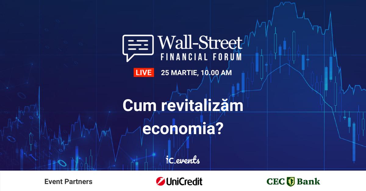 Financial Forum 2021: cum arată economia României și ce finanțări ai la îndemână