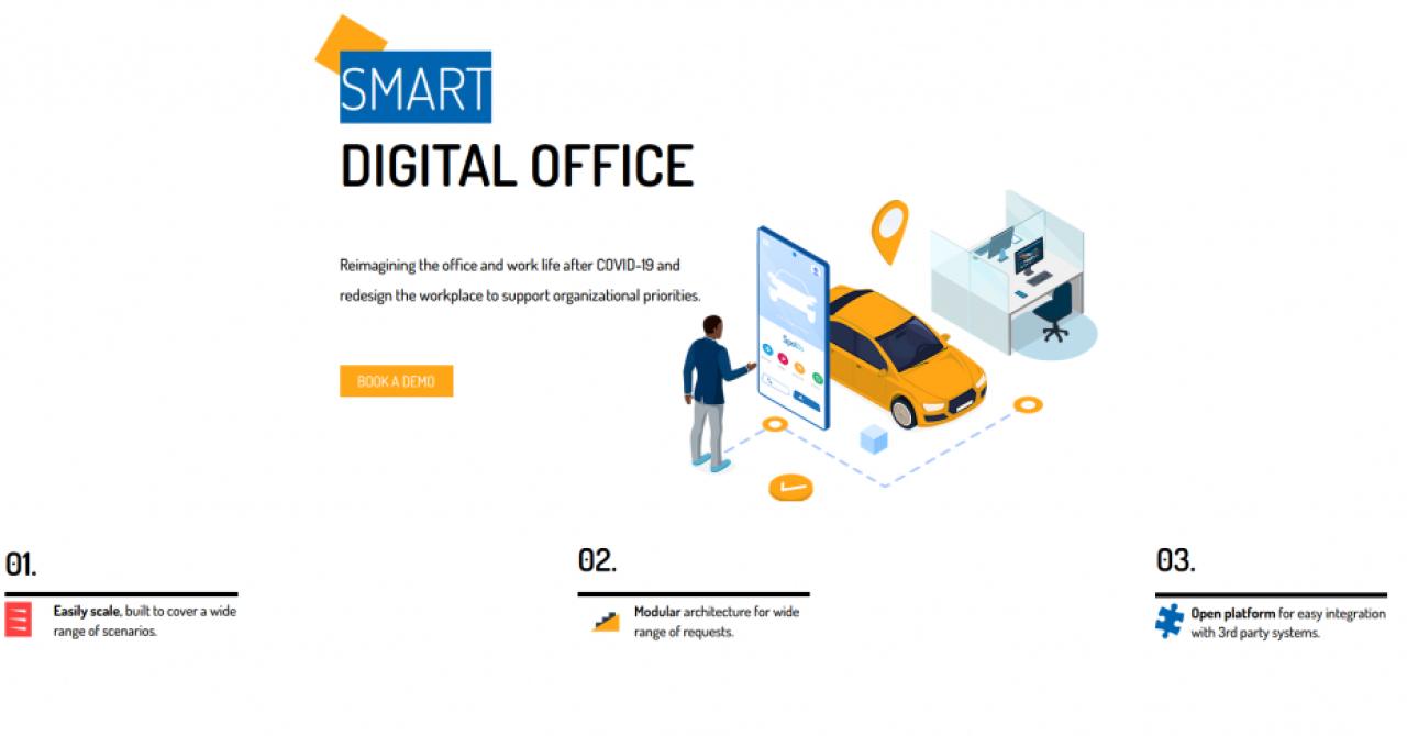 Prima soluție digitală pentru managementul resurselor unei clădiri de birouri