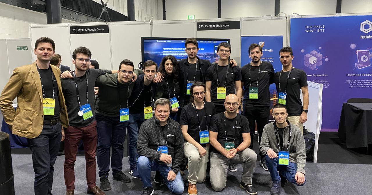 Pentest-Tools, primul startup românesc prezent la Black Hat Europe