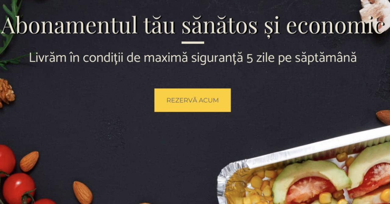 Coronavirus | Good-Food.ro livrează mâncarea acasă pentru toată săptămâna