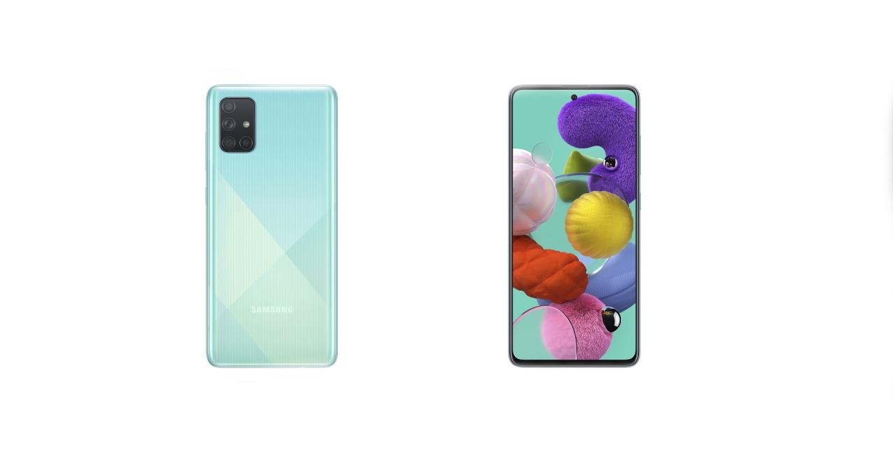 Samsung lansează noile smartphone-uri Galaxy A71 și Galaxy A51