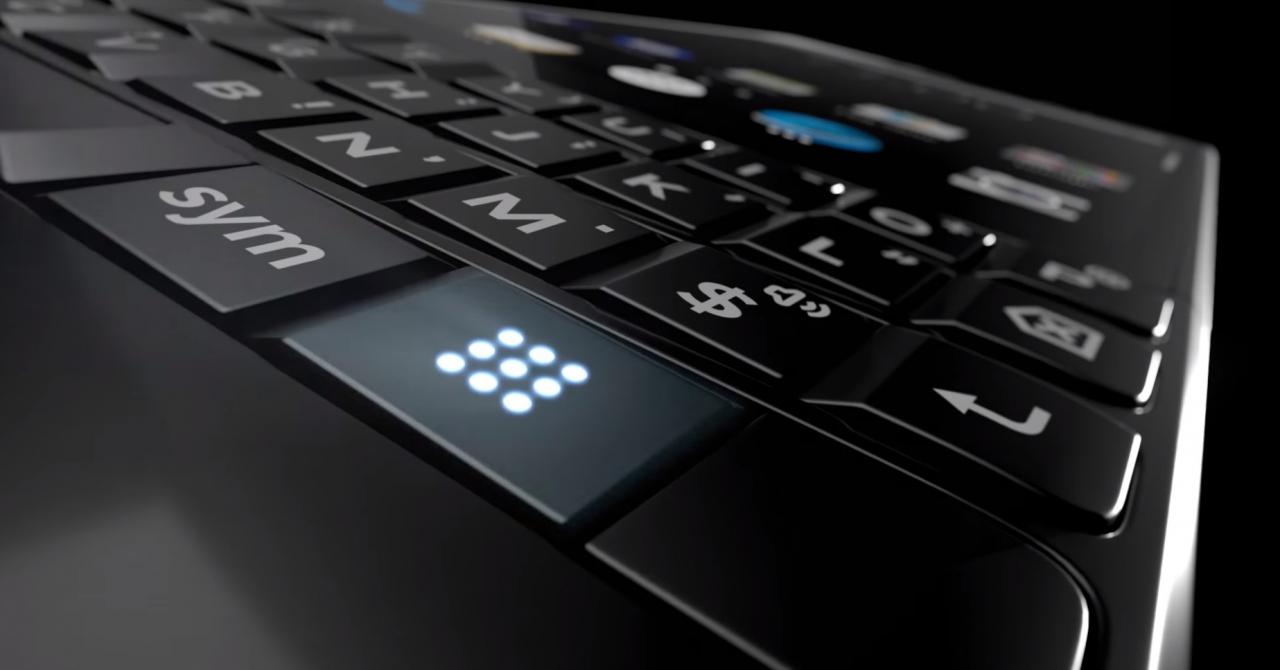 Primele imagini integrale cu BlackBerry Key2, înainte de lansare