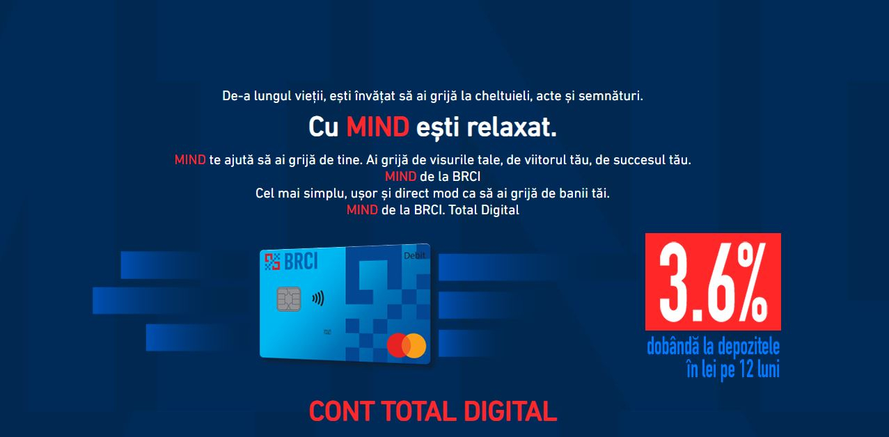 Banca Română de Credite și Investiții lansează MIND: platformă digitală bancară
