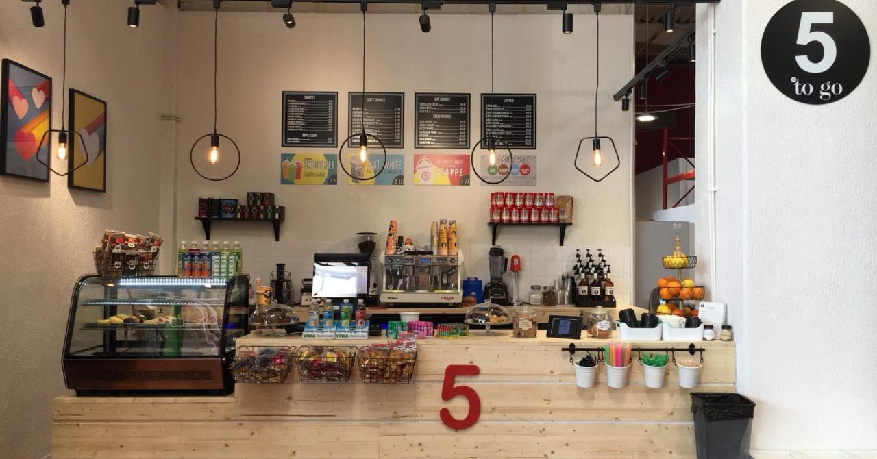 Franciza 5 to go: cafenea deschisă într-un magazin de bricolaj