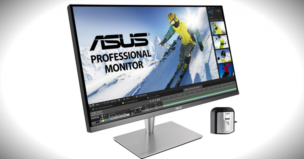 Acest monitor de la ASUS e creat special pentru editare foto și video