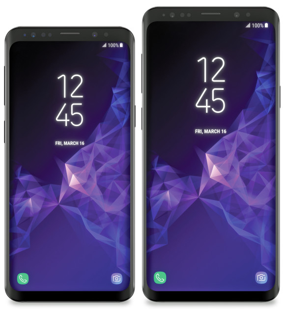 Samsung Galaxy S9 și S9+ - cum vor arăta telefoanele