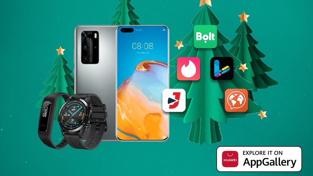 Huawei: Campanie de Crăciun dedicată tuturor utilizatorilor de Android