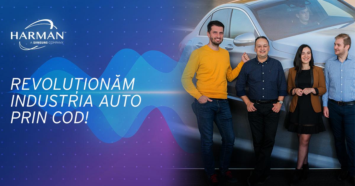 Joburi în IT: HARMAN România caută 20 de programatori