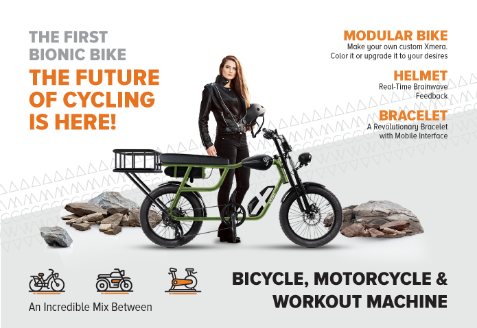 Pegas lansează crowdfunding pentru bicicleta bionică Xmera