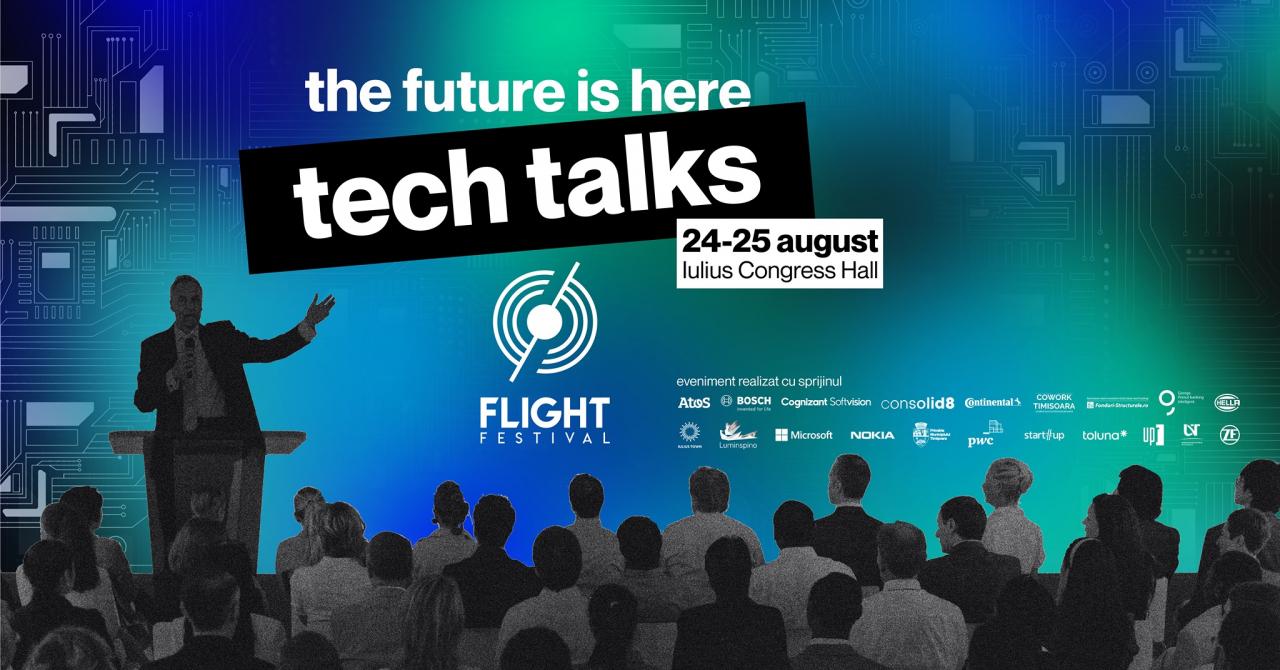 FLIGHT Tech Talks 2021: despre inovare în comunități și în companii