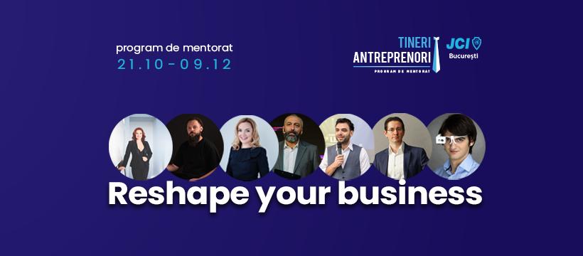 Mini MBA-ul Tineri Antreprenori: fondatori care au trecut prin program