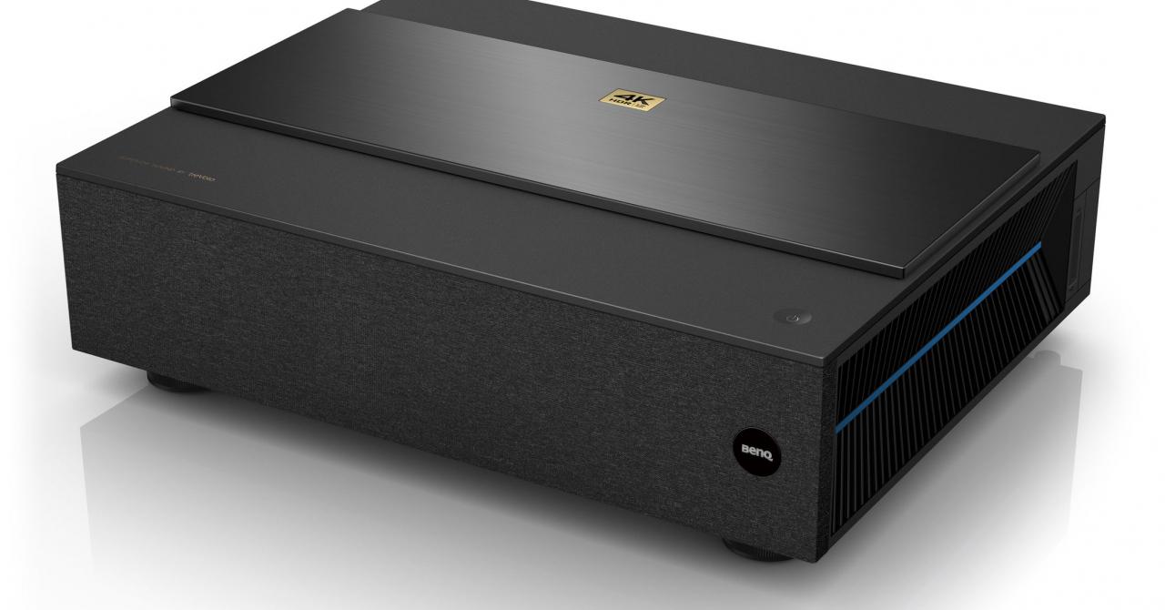 BenQ lansează un videoproiector Ultra Short Throw Laser True 4K