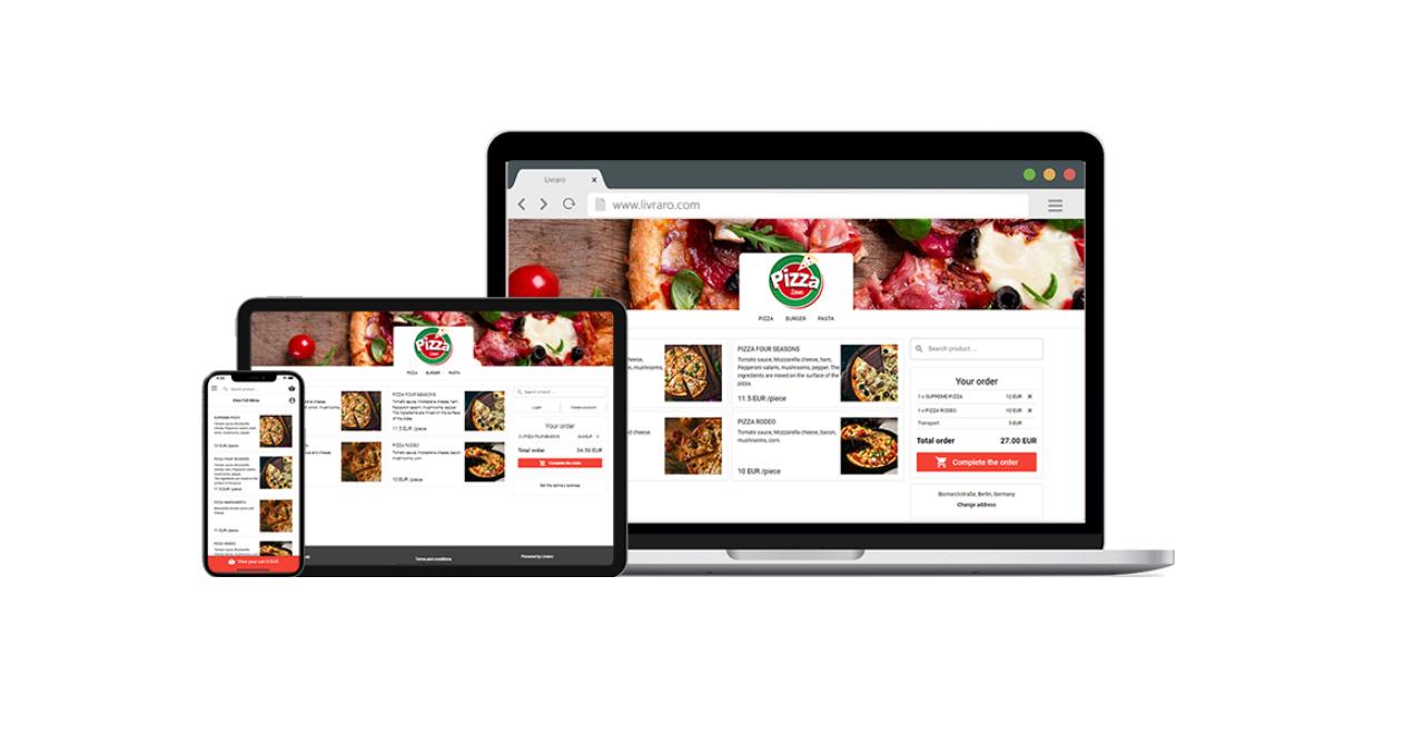 Livraro.com, platforma care-ți face un magazin online pentru livrări acasă
