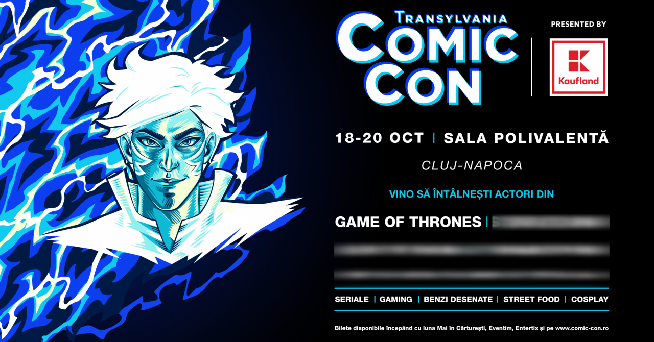 Comic Con se extinde în România: ediție în Transilvania din toamnă