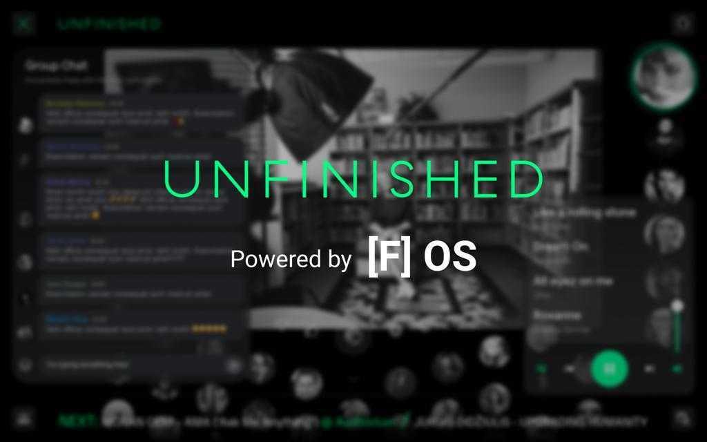 UNFINISHED prezintă [F] OS, o platformă pentru evenimente și festivaluri online