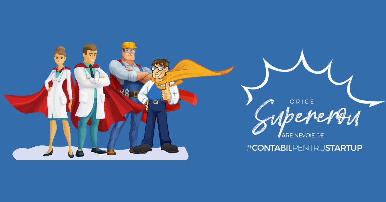 #contabilpentrustartup: servicii gratuite financiar-contabile. Intră în campanie
