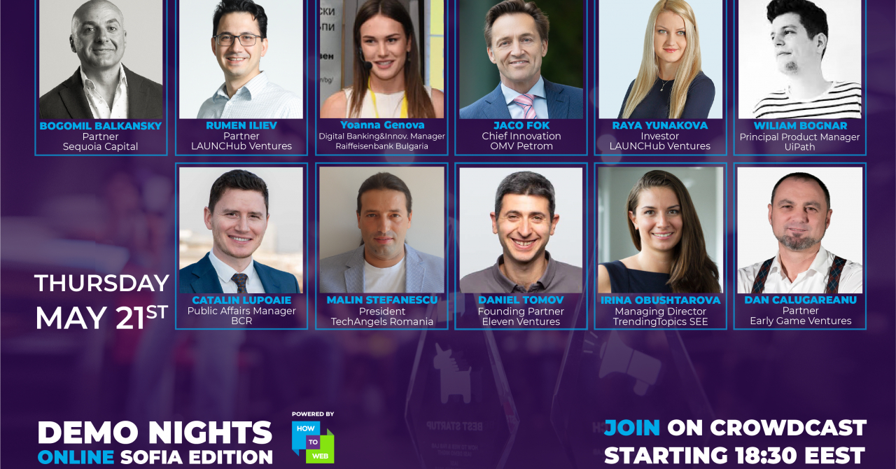 Demo Nights în Sofia: startup-uri bulgare și românești, în fața investitorilor