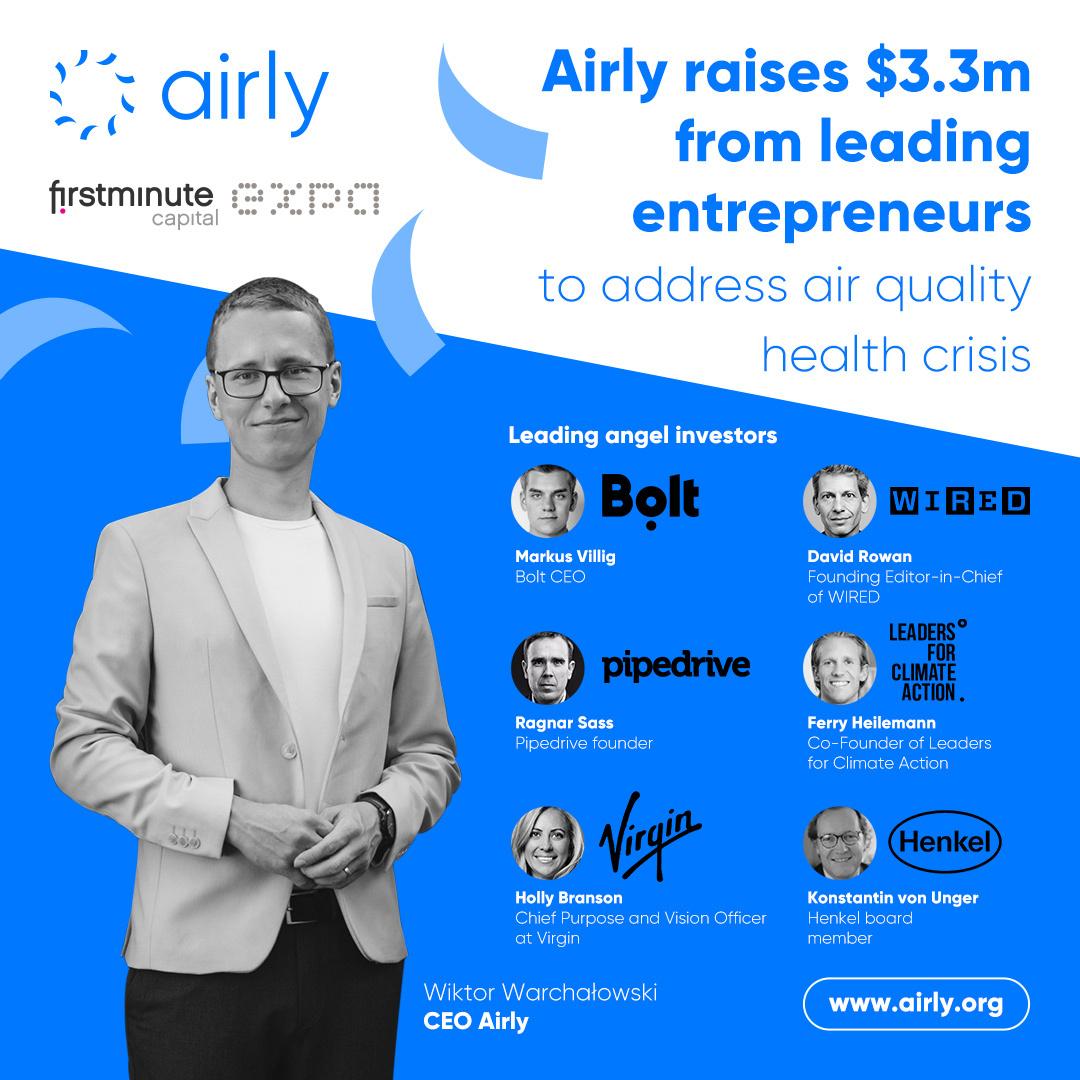 Airly, finanțare de 3,3 mil.$. Bani și pentru extindere în România