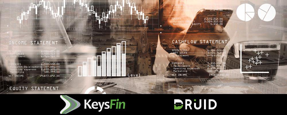Parteneriat între DRUID și KeysFin; chatboți pentru analiza riscului comercial