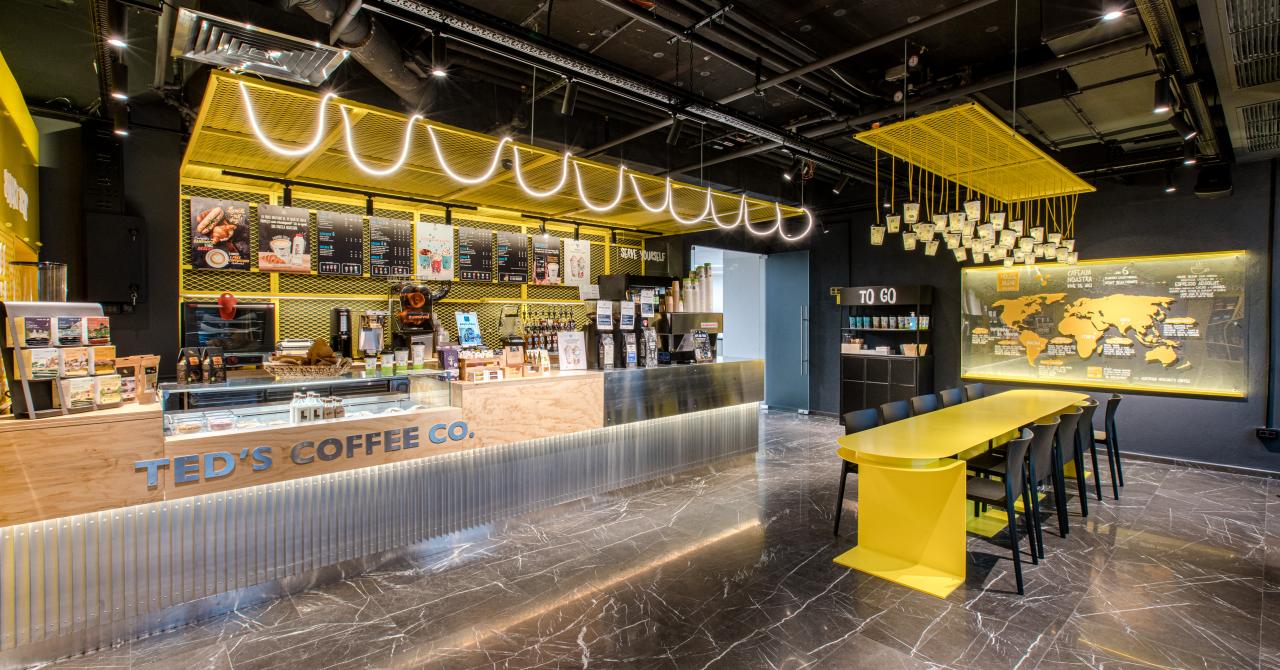 TED'S COFFEE CO încheie 2020 cu 38 de locații. 9 locații deschise în an pandemic