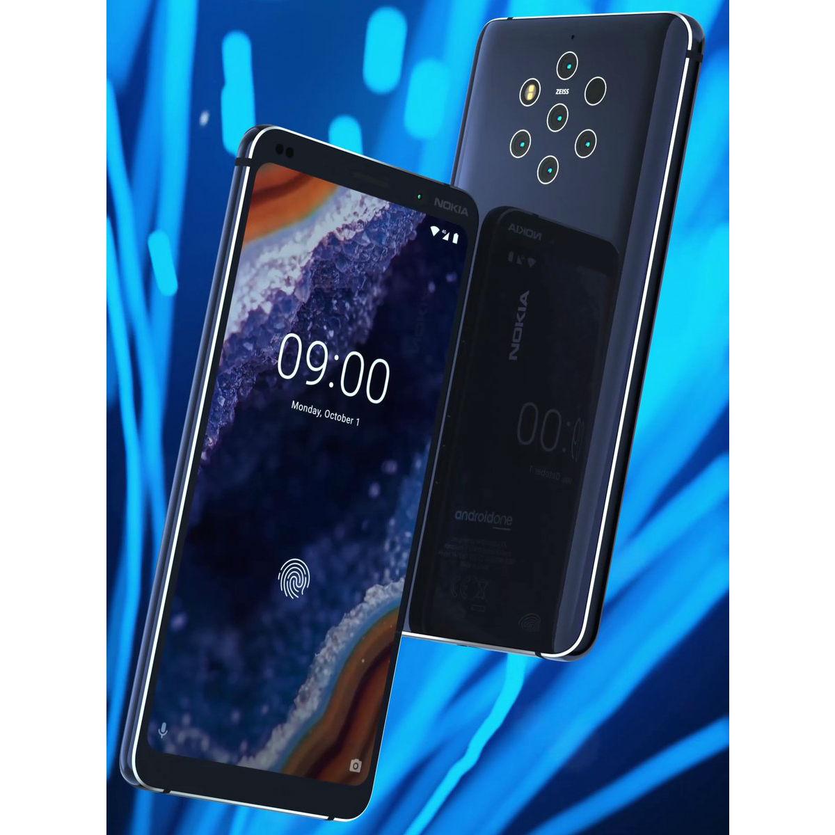 Nokia 9 PureView, telefonul cu 5 camere foto. Preț și disponibilitate