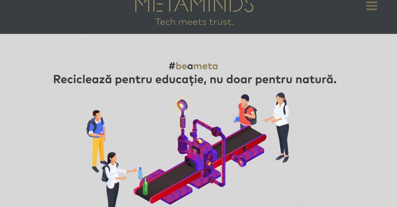 Firma de IT Metaminds lansează o provocare de colectare selectivă online