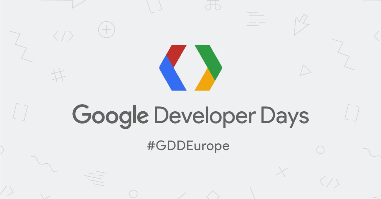 Google Developer Days Europe: fii la curent cu tendințele din tech