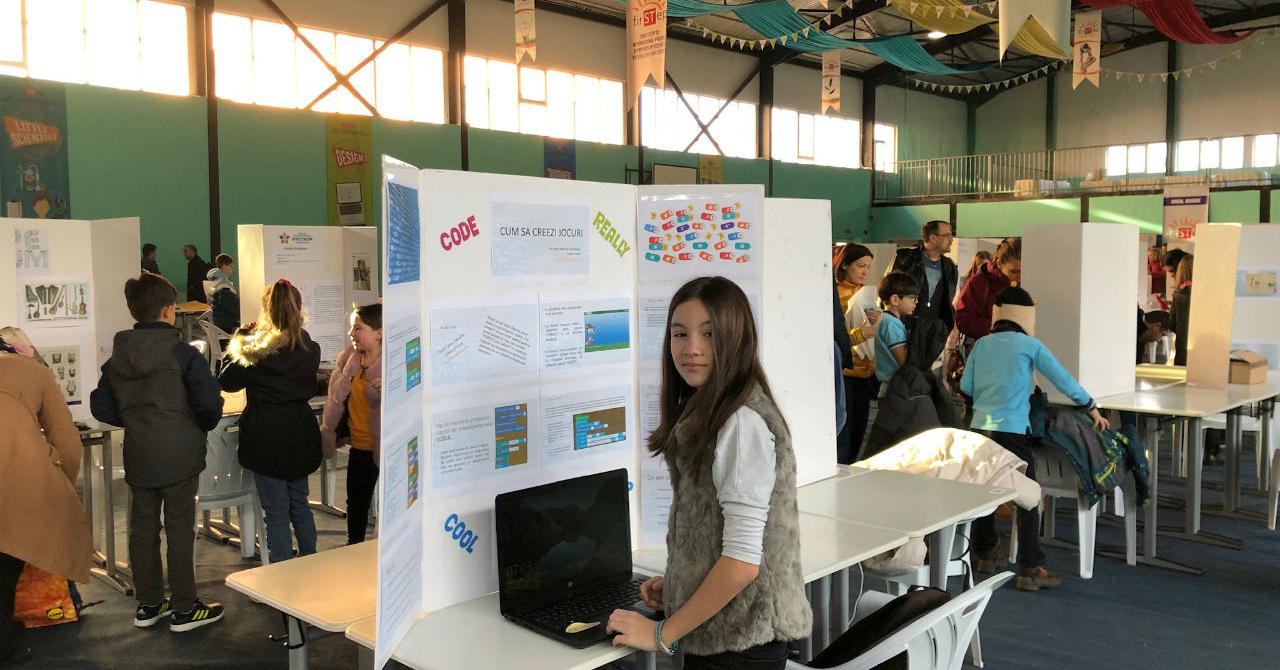 Visurile Carlei: la 10 ani, câștigătoarea unui concurs național de IT