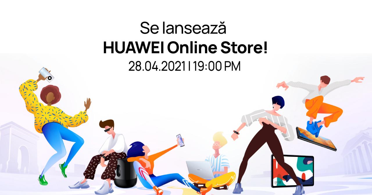 Huawei deschide huaweistore.ro: vouchere de 6.000 lei, surprize pentru clienții
