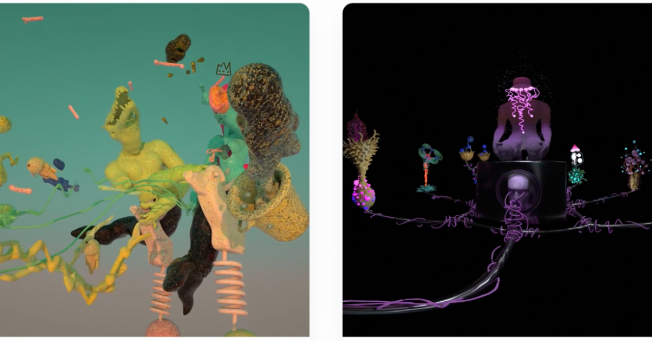 One Night Gallery: primele lucrări de artă NFT create în VR de artiști români