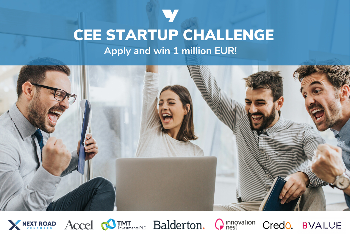 CEE Startup Challenge: win 1 Million Euro