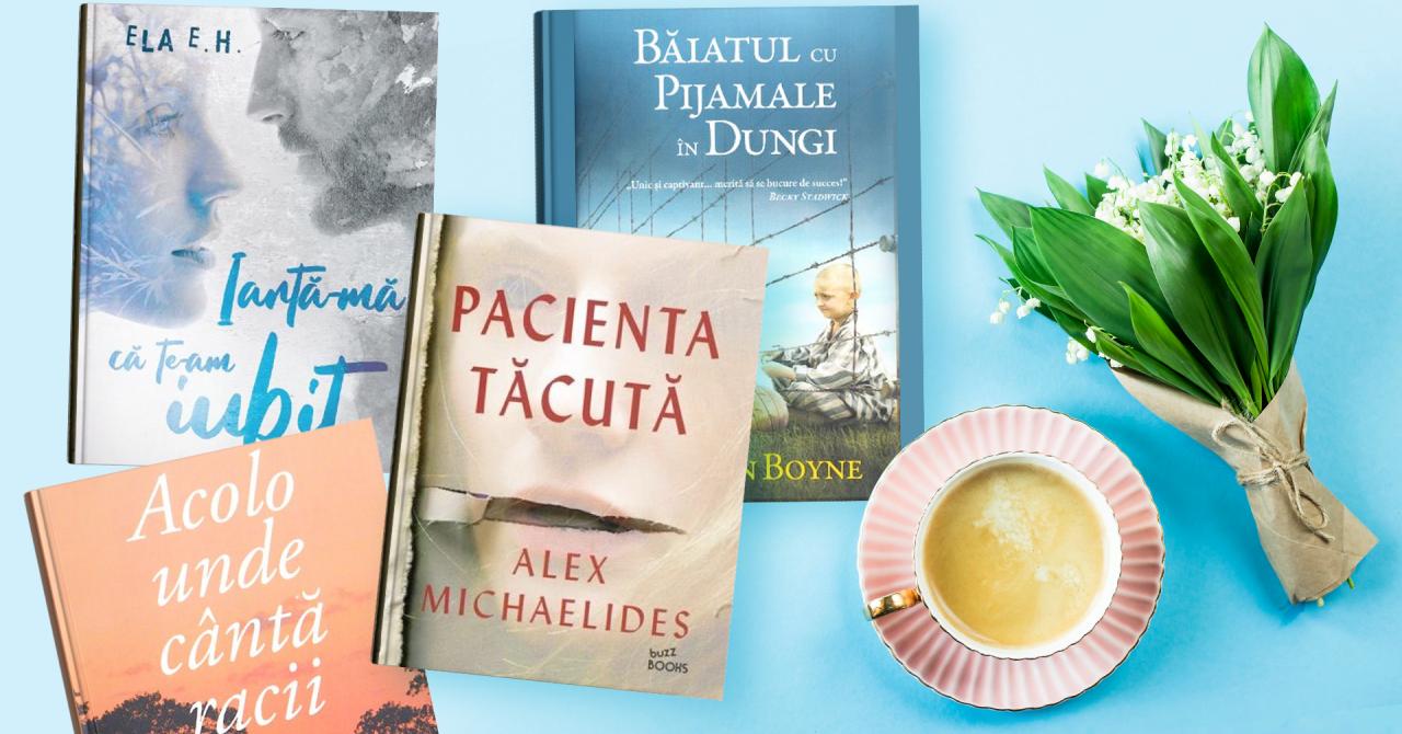 Lista de lectură de la Libris.ro: recomandări de cărți pentru această vară