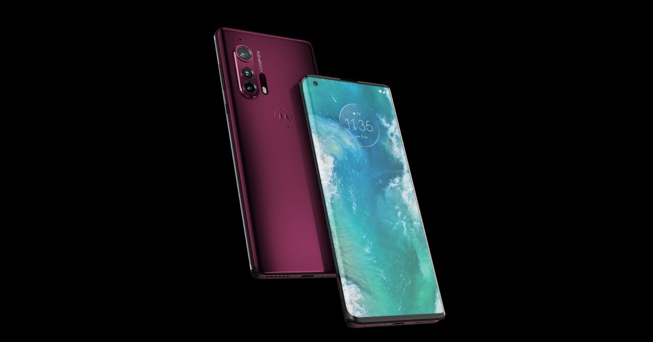 Noile Motorola Edge și Edge+, premiate pentru designul reușit