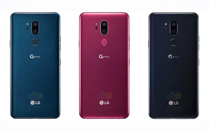 LG G7 - primele imagini cu ultimul mare smartphone al primăverii