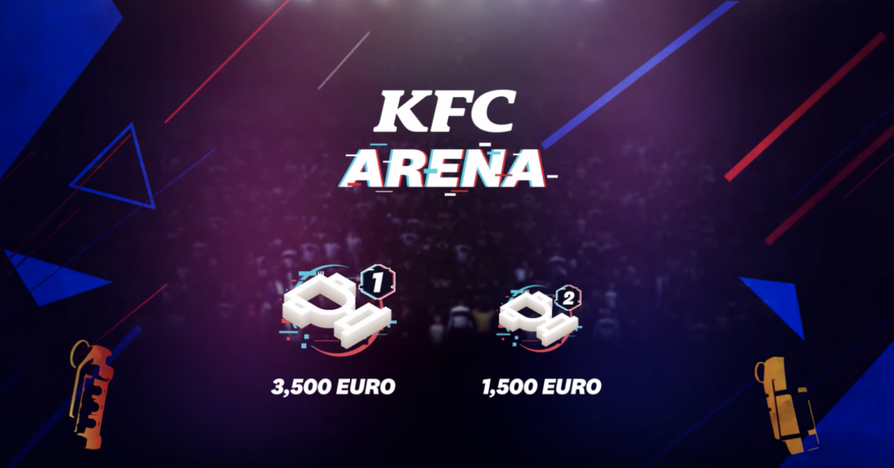 KFC și Nexus Gaming organizează o competiție națională de CS:GO