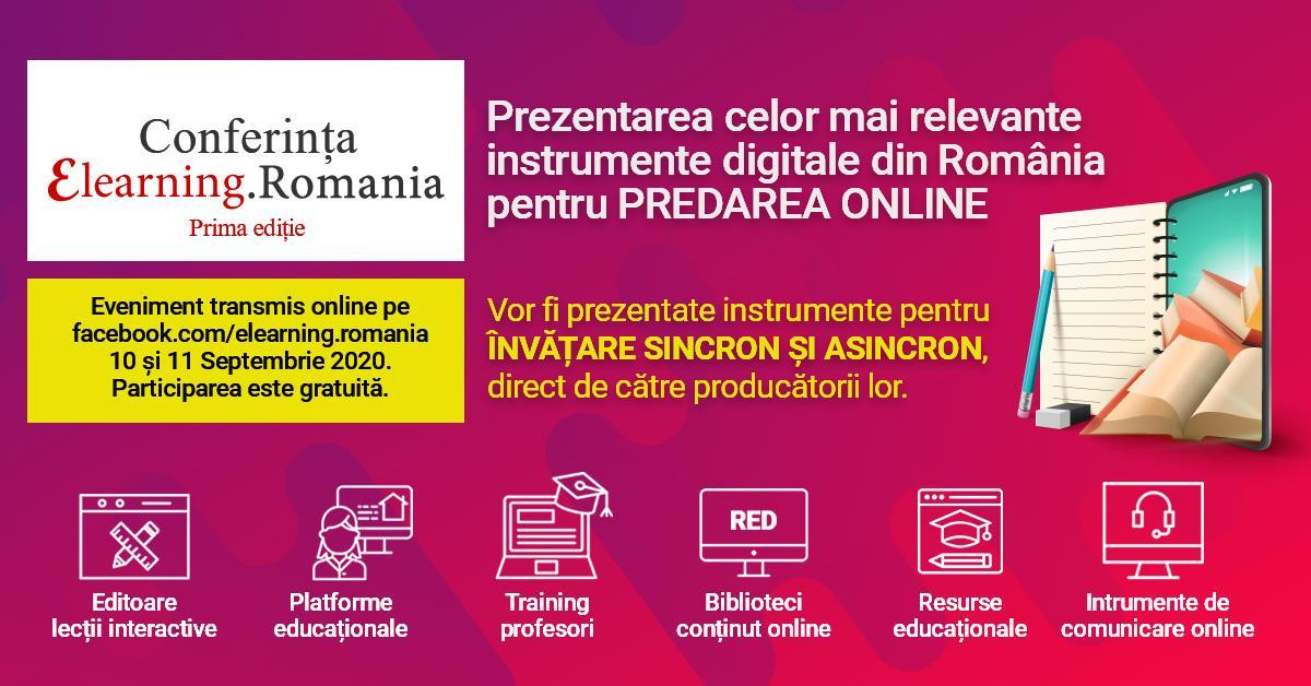 eLearning România, conferința în care profesorii descoperă soluții pentru educație