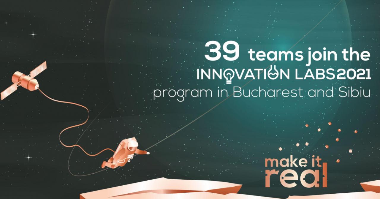 Innovation Labs 2021 București și Sibiu - 39 de idei pentru viitor ale tinerilor