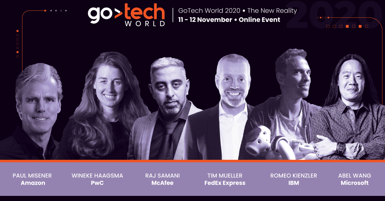 Ce experți au confirmat prezența pe scenele GoTech World 2020: The New Reality