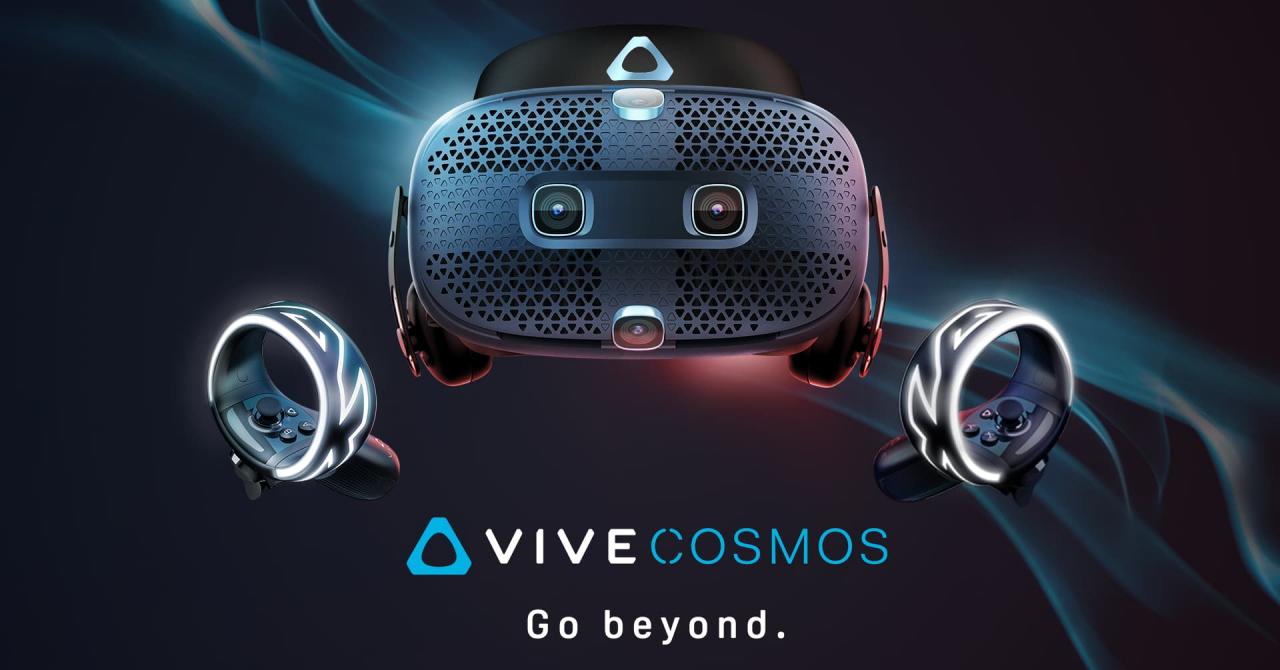 HTC Vive Cosmos, un nou sistem VR, disponibil în România din octombrie