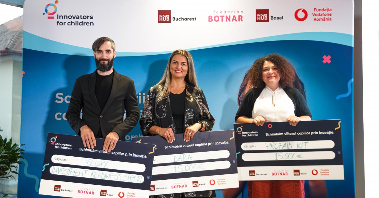 Innovators for Children 2021: ce soluții propun câștigătorii programului
