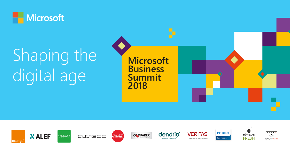 Microsoft Business Summit 2018: viitorul mediului de afaceri românesc