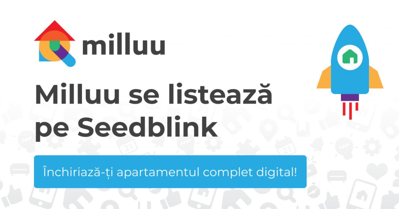 Startup-ul Milluu, 884.000 de euro finanțare prin Seedblink și de la fonduri