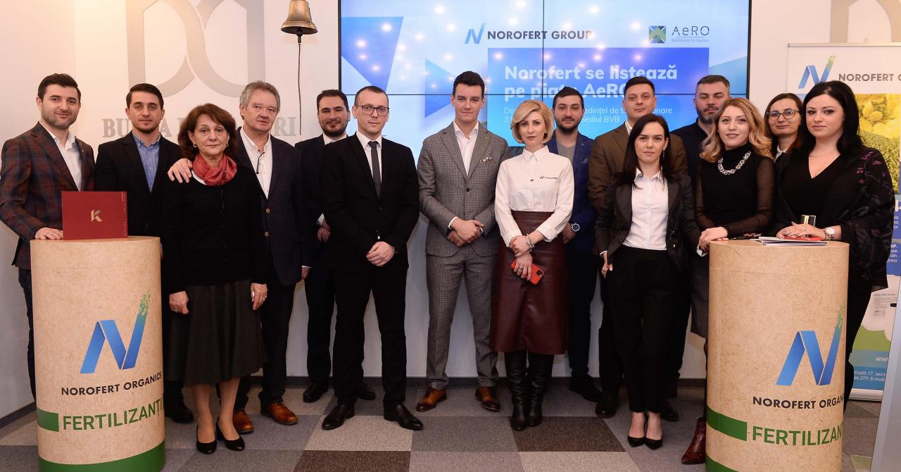Norofert Group, profit net de peste 6 milioane de lei în 2020