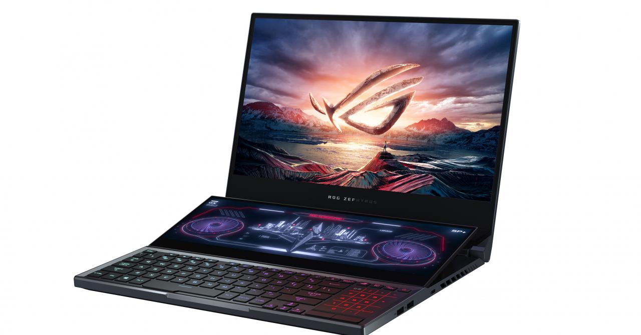 Laptopul de gaming cu două ecrane, ROG Zephyrus Duo 15, a sosit în România