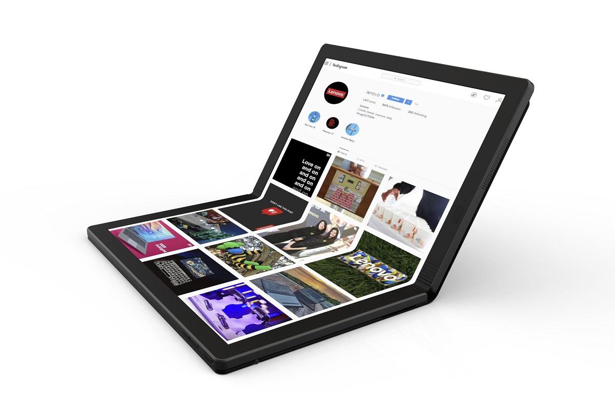 Lenovo vrea să facă tabletele populare din nou, așa că le pliază