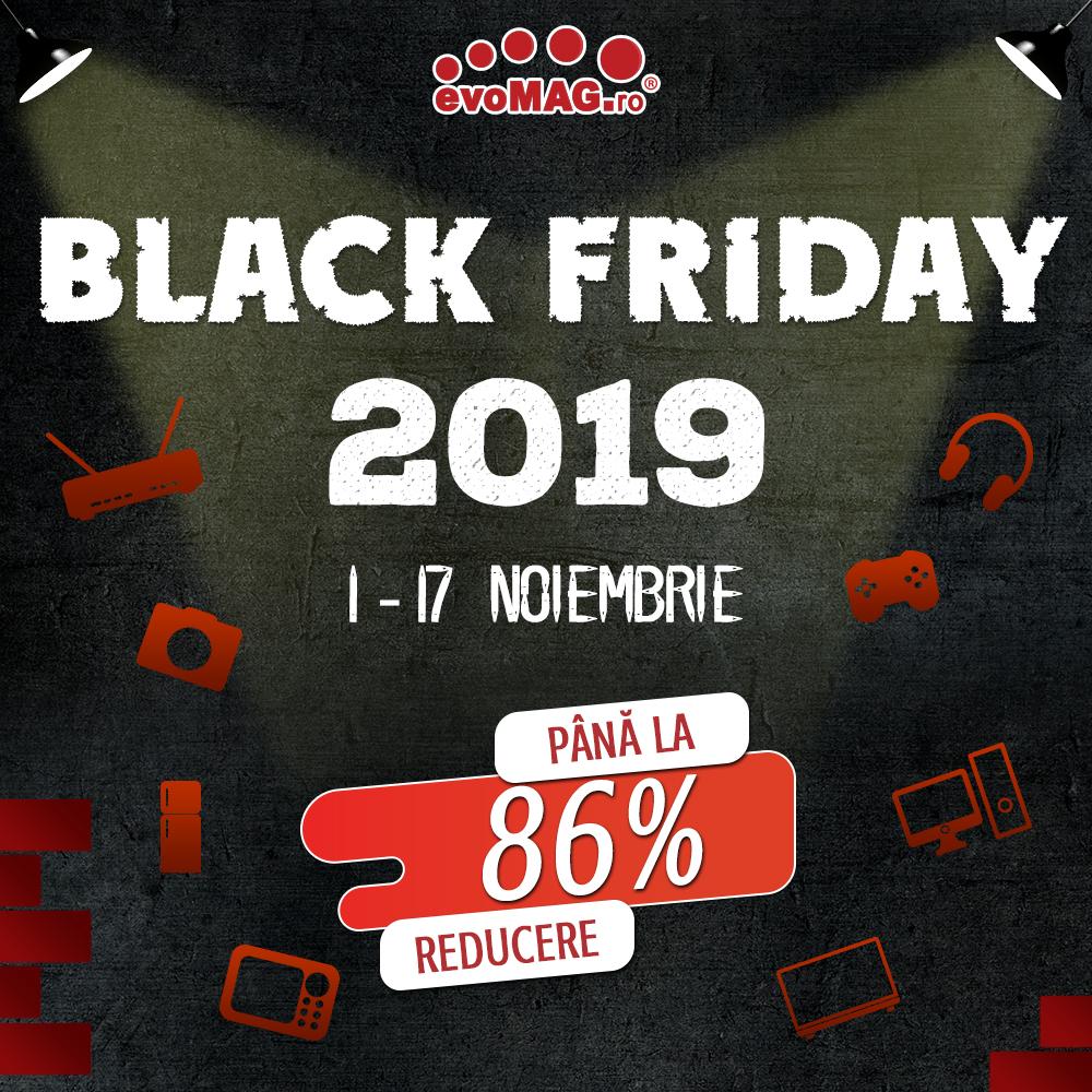 Black Friday 2019 începe deja la evoMAG. Trotinete electrice reduse