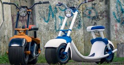 Scooterson - un scuter inteligent dezvoltat la Arad. Primele 100 de precomenzi la finalul lunii