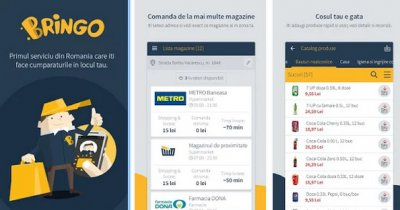 Startup de livrări de la magazine în București - Bringo e Uber pentru alimente și medicamente