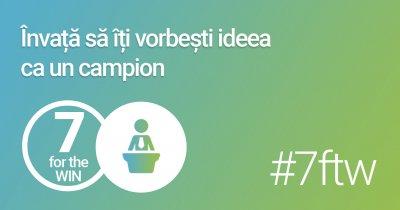 start-up.ro lansează seminariile 7 for the Win - fără vorbe goale, doar lecții practice pentru antreprenori