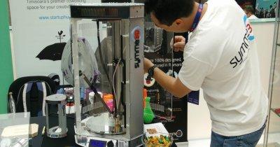 Succes în șase luni: imprimante 3D făcute la Timișoara, în laboratoarele Renault și Continental